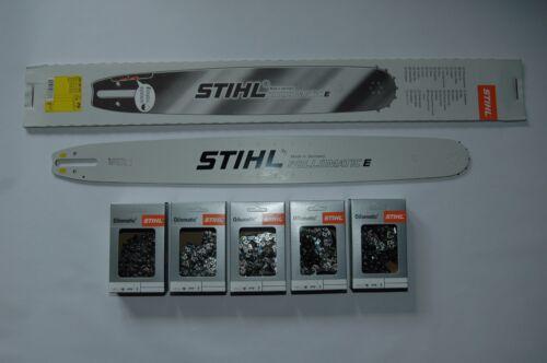 """5231 Stihl Schiene Schwert  63 cm 1,6 3//8/""""  Rollomatic E 2 RS Kette"""