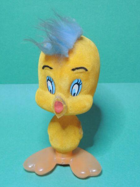 Looney Tunes Titi Figurine En Plastique Soufflé Floqué Vintage Tweety Figure Prezzo Moderato
