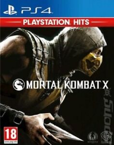 Mortal-Kombat-X-PS4-PEGI-18-Beat-039-Em-Up-NEW-FREE-Shipping-Save-s