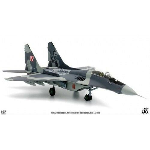 Jcw72mg29003 1 72 Mig-29 Fulcrum Polierung Air Force Kosciuszkos Sqn
