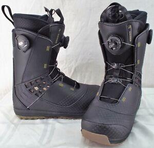 site réputé 9dcf0 188d2 Details about Salomon Dialogue Focus Boa Used Men's Snowboard Boots Size  7.5 #274177