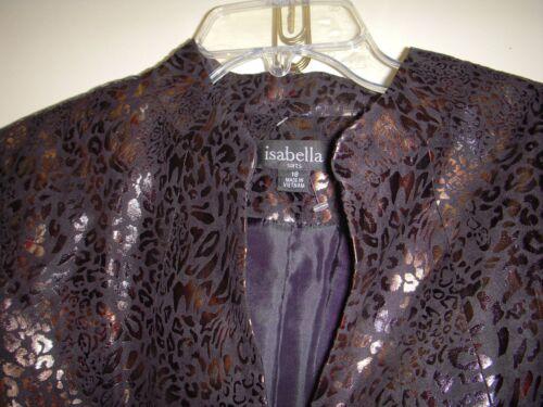 Isabella Boutons à Nwt Or Doublés Veste 18 14 Et Suits Noir fTqfUB