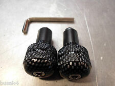 MOTORCYCLE MOTORBIKE CARBON LOOK 7/8 HANDLEBAR ENDS QUALITY A9