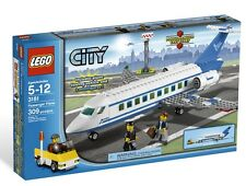 NEW IN BOX SEALED Lego City Passenger Plane (3181) Retired Rare 309 pieces