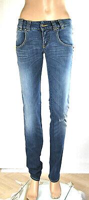 Jeans Donna Pantaloni MET Made in Italy Slim Fit C505 Tg 26 veste 25
