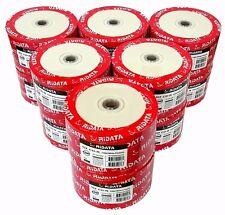 600 RIDATA Blank CD-R CDR White Inkjet Hub Printable 52X 700MB Media Disc TAIWAN