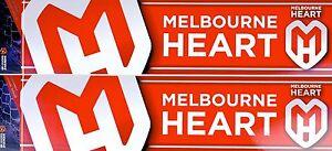 A-League Melbourne City Heart Car Bumper Sticker
