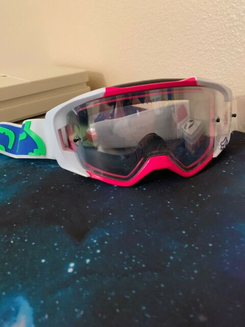 Hero white Enemy goggle lens clear