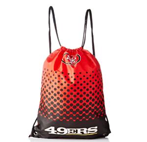 NFL San Francisco 49Ers Sac De Gym Avec Fade design Licensed Merchandise Neuf
