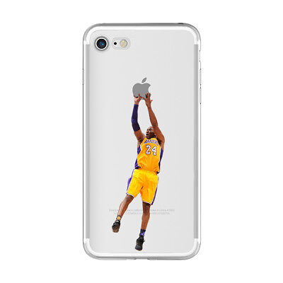 reputable site 882f9 c9cc2 Kobe Bryant LA Lakers Star soft case cover for iPhone X XS Max XR 5s 6s 7 8  Plus | eBay