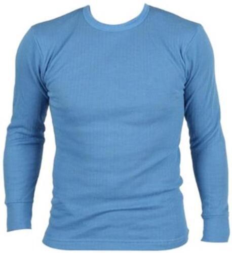 Vendita Da Uomo A Maniche Lunghe a Coste Termico T Shirt