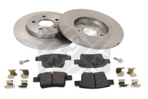 Scheibenbremse für Bremsanlage Hinterachse MAPCO 47689 Bremsensatz
