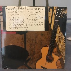 Timothy Price Live At Vino Fingerstyle Guitar CD NEW! SIGNED!
