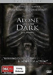 1 of 1 - Alone in the Dark (DVD) Sci-Fi Action [Region 4] NEW/SEALED Christian Slater