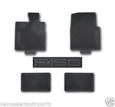 OEM NEW 2004-2008 Ford F-150 CREW CAB All-Weather Vinyl Floor Mats Rubber