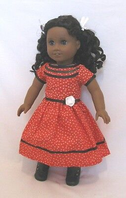"Doll Clothes AG 18"" Cecile's Floral Dress Made To Fit American Girl Dolls"