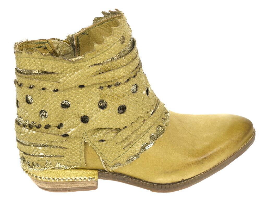 Looking Schuhe Stiefelette 02 grün Gr. 39 Original Neu und OVP