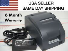 EPSON TM-U220B Ethernet Interface POS Printer 180day  Warranty SAME DAY Shipping