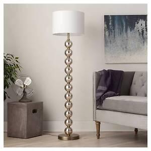 Stacked Ball Floor Lamp Mercury Glass Threshold Ebay