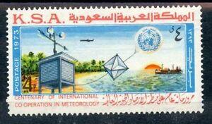 Infatigable Stamp / Timbre Arabie Saoudite - Saudi Arabia - N° 401 ** Meteorologie