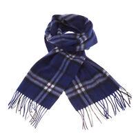 Lyle & Scott 100% Lambswool Scarf - Great Scottish Gift - Thomson Navy