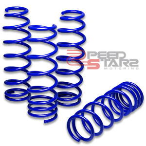 Jdm Red Suspension Lowering Coiled Springs Set For Civic//Integra