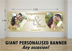 Personalised-GIANT-Large-Congratulations-Wedding-Engagement-Mr-amp-Mrs-Banner-N75