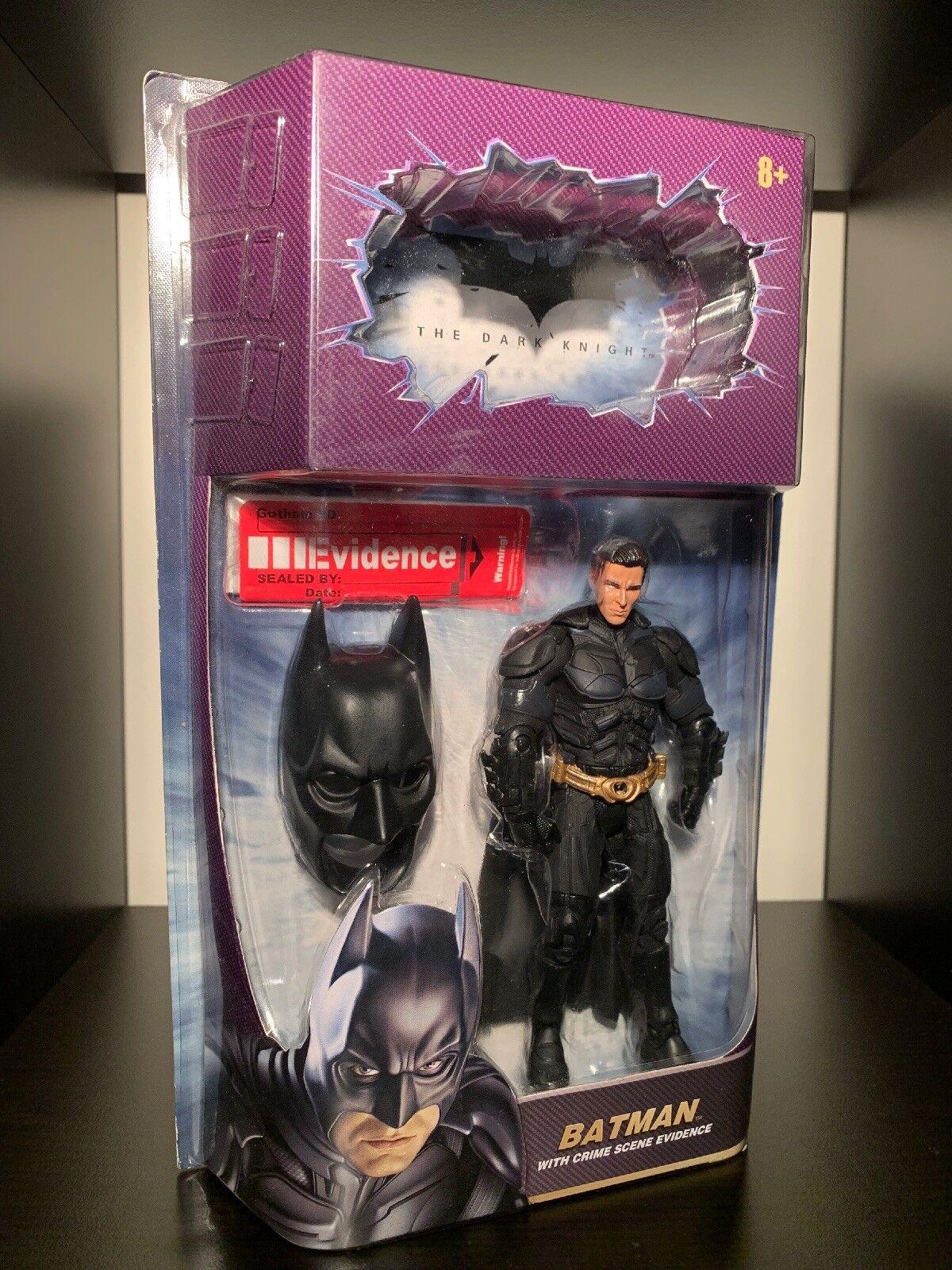 DesenmasCocheado Batman Chase variante Caballero Oscuro recordó versión Mattel Movie Masters