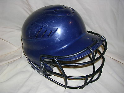 Intellective Rawlings Coolflo Youth Baseball Softball Helmet Blue Size 6 1/2-7 1/2 W/ Mask In Short Supply Team Sports Baseball & Softball