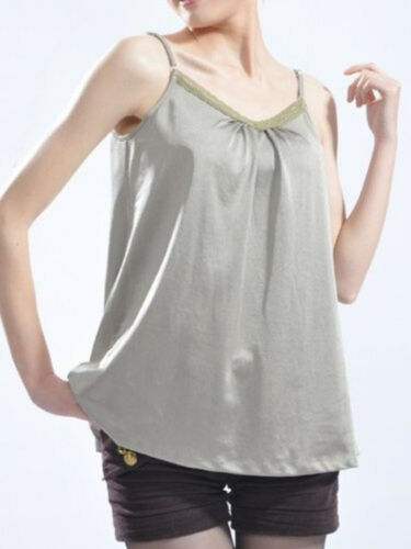 OurSure Anti-Radiation Maternity Top  Shield 8900617Silver Blend