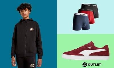 Up to 50% off JD Outlet