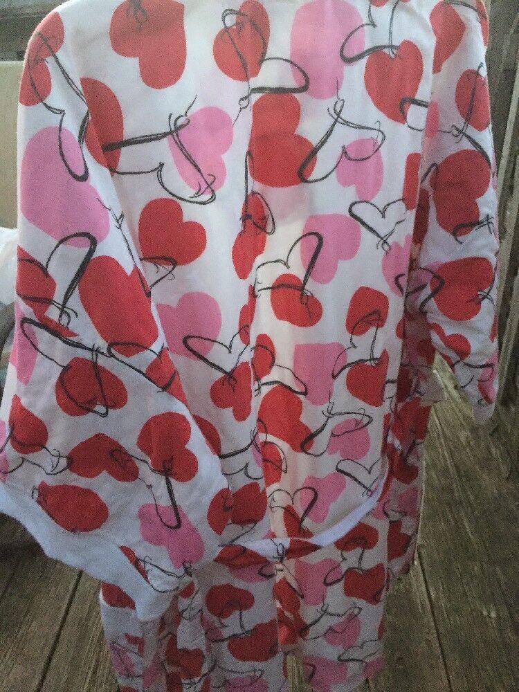 Nearly New CYPRESS Robe Spa Yoga Beach Pajamas PI… - image 7
