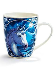 Lisa Parker  Unicorn Design Bone China Mug  Wiccan_Pagan Z18 - <span itemprop=availableAtOrFrom>Little Village in England, United Kingdom</span> - Buyer is responsible for the cost of return postage at least initially. If the item is confirmed as faulty we will of course refund the cost of the item and the postage  - Little Village in England, United Kingdom
