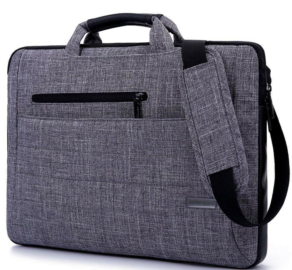 BRINCH 17.3 Inches Suit Fabric Multi-functional NeoprenePouch Sleeve Carrying