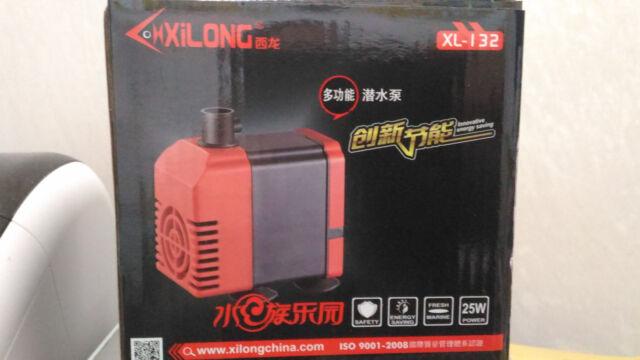 Pompe à eau de aquarium moyen submersible 1200 l. 25w filtre etang source