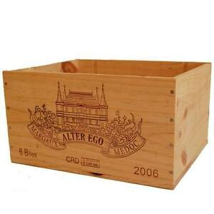 1 X GENUINE FRENCH WOODEN WINE BOX BAR DISPLAY RESTAURANT DECORATION TABLE PUB//