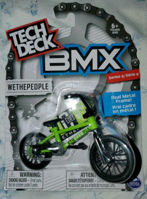 Tech Deck BMX FINGER BIKES Series 9 WETHEPEOPLE  Lime Green