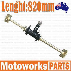 Details about Rear Axle Assembly with Carrier Hubs 150cc 250cc Quad Dirt  Bike ATV Dune Buggy F