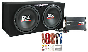 MTX-TNP212D2-12-034-1200W-Dual-Loaded-Car-Subwoofer-Audio-Sub-Box-Amplifier-Amp-Kit