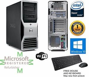 Details about Dell Precision T7500 Workstation 3 46GHz X5677 48GB RAM 1TB  Window 10 64