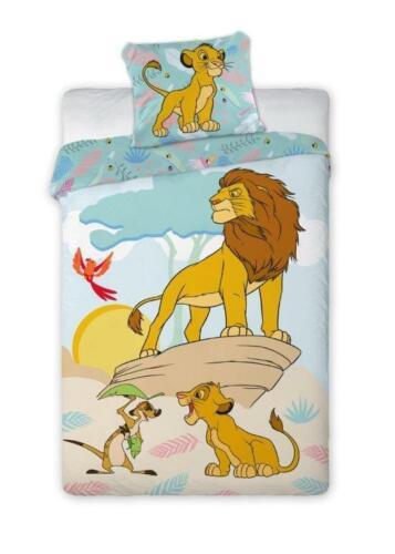Disney Lion King el rey león cama para niños ropa de 140 x 200 cm