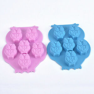 Owl-Silicone-Cake-Decorating-Mould-Candy-Cookies-Chocolate-Soap-Baking-Mold-GOUK