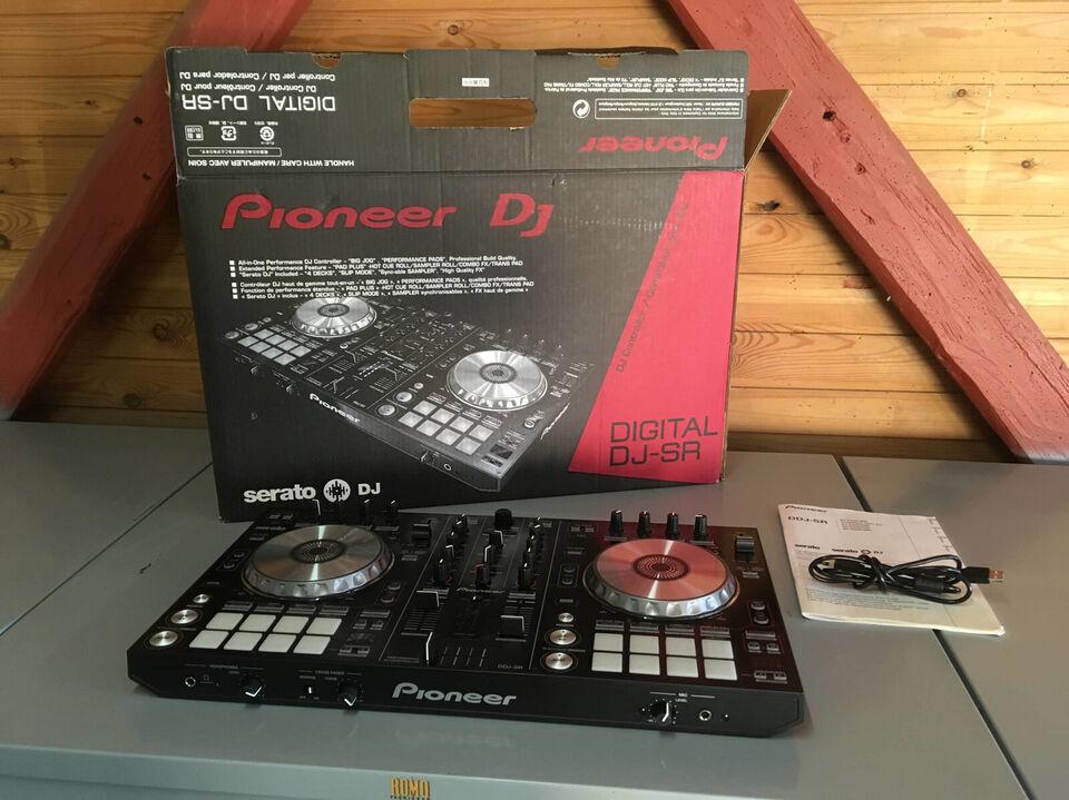 Pioneer DDJ-SR – 1 ejers – inkl. manual og emba...