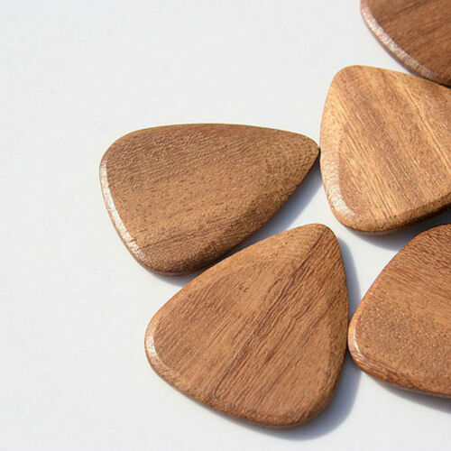 Plecs Plektrum Timber Tones Holzplektren Afrormosia Picks