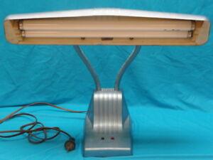 Image Is Loading 1940s Dazor 1000 Modern Age Gooseneck Desk Lamp