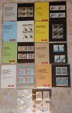 Nederland Complete jaargang 1982 PTT mapjes - 9 mapjes postprijs ƒ 21,00