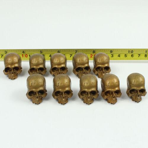 A29-03A 1//6 HOT Gloden Skull x 10 TOYS