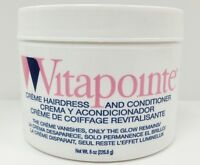 Vitapointe Creme Hairdress And Conditioner 8oz Smoothes Cuticle