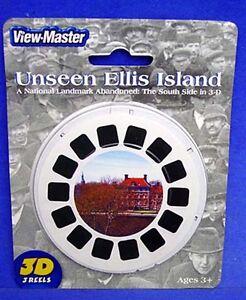 ViewMaster 3 Reel Set View-Master Unseen Ellis Island New York