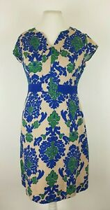 Boden-Retro-Baroque-Tapestry-Jacquard-Fitted-Wiggle-Pencil-Dress-UK-12-R